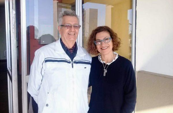 TABLA DOS: CUMPLE 25 AÑOS. OSCAR FISSORE Y SARA NUÑEZ LO CELEBRAR HACIENDO TEATRO.