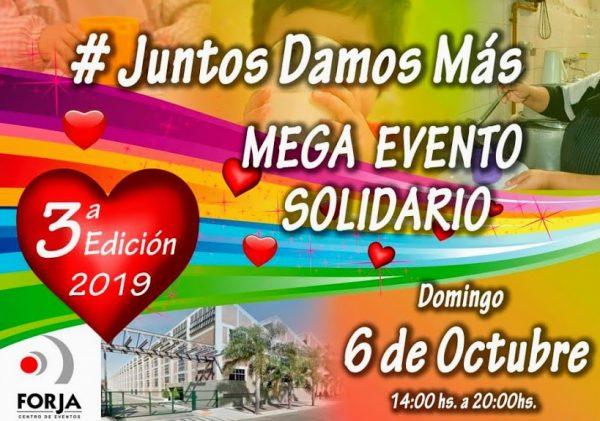 Gran Evento Solidario en Forja:De todo en un mismo lugar.