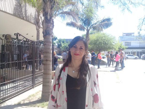 LAURA LABAT PRESENTE EN EL ANFITEATRO