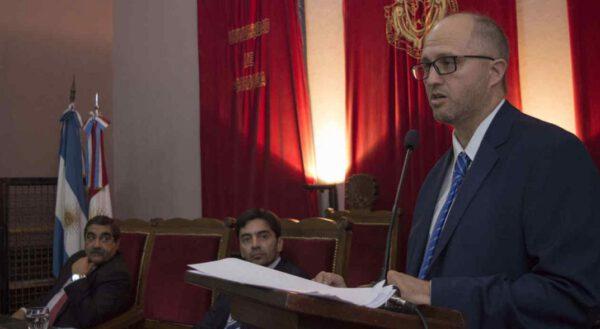 Federación de Abogados. La nota con el Dr. Augusto Parola